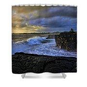 Sunrise Near Hilo Hawaii Shower Curtain