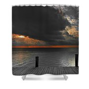 Sunrise On Key Islamorada Shower Curtain