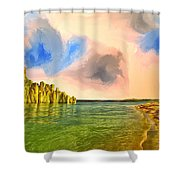 Sunrise On Lake Powell Shower Curtain