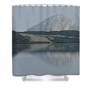 Sunrise On Morro Bay And Rock Shower Curtain