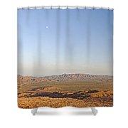 Sunrise On The Sierra De Las Quijadas Shower Curtain