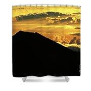 Sunrise Over Maui Shower Curtain