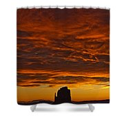 Sunrise Over Monument Valley, Arizona Shower Curtain