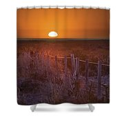 Sunrise Over The Pampa Of Argentina San Shower Curtain