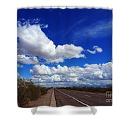 Sunrise Parkway Shower Curtain