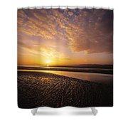 Sunrise, Sandymount Strand Dun Shower Curtain