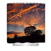 Sunset 07 26 12 Shower Curtain