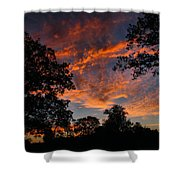 Sunset 07 26 12 Two Shower Curtain