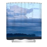 Sunset After The Storm Shower Curtain