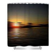 Sunset Art 1 Shower Curtain