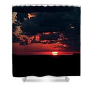 Sunset At Chestnut Ridge 27718 Shower Curtain