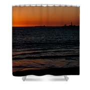 Sunset At Freemantle Shower Curtain