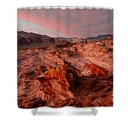 Sunset At Liitle Finland Shower Curtain