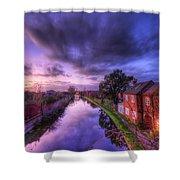 Sunset At Loughborough Shower Curtain