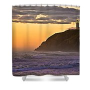 Sunset At North Head II Shower Curtain