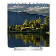 Sunset At Sand Creek Shower Curtain