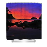 Sunset At Sunset Bay Shower Curtain