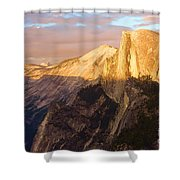 Sunset At The Dome Shower Curtain