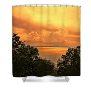 Sunset At The Esplanade Shower Curtain