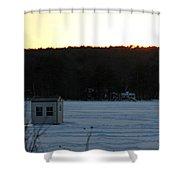 Sunset Bob Shower Curtain