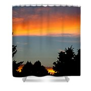Sunset Charlestown In July Shower Curtain