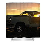 Sunset Coupe Shower Curtain