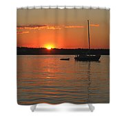 Sunset Cove Shower Curtain