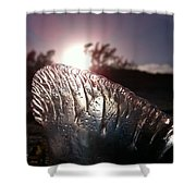 Sunset For Man-o-war Shower Curtain