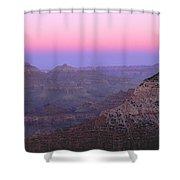 Sunset Hues At Grand Canyon Shower Curtain