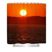 Sunset II Shower Curtain