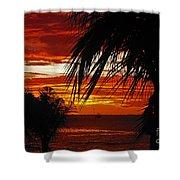 Sunset In Cancun Shower Curtain
