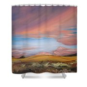 Sunset In Hawaii Shower Curtain
