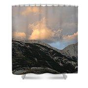 Sunset In Jasper Shower Curtain