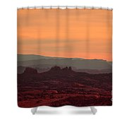 Sunset In Moab Shower Curtain