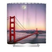 Sunset In San Francisco Shower Curtain