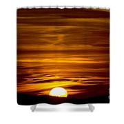 Sunset In Tuscany Shower Curtain