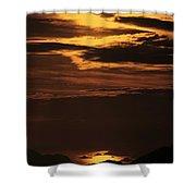 Sunset Ipanema  Shower Curtain
