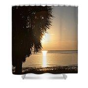Sunset Is Just Around The Corner Shower Curtain