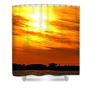 Sunset Ix Shower Curtain