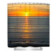 Sunset - Moana Beach - South Australia Shower Curtain