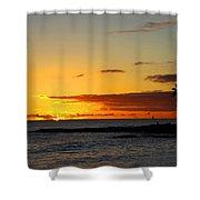 Sunset On Kauai Shower Curtain