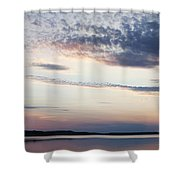 Sunset On Lovewell Shower Curtain
