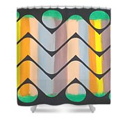 Sunset On Maggie's Lake Shower Curtain