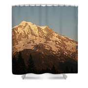 Sunset On The Mountain Shower Curtain