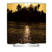 Sunset One Shower Curtain