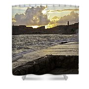 Sunset Over Dubrovnik 2 Shower Curtain