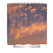 Sunset Over The Moscow River Shower Curtain