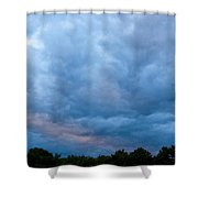 Sunset Painted Sky Shower Curtain