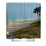 Sunset Pot Shower Curtain