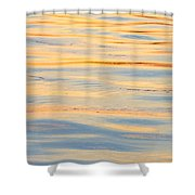 Sunset Reflected - Cooper River Charleston South Carolina Shower Curtain
